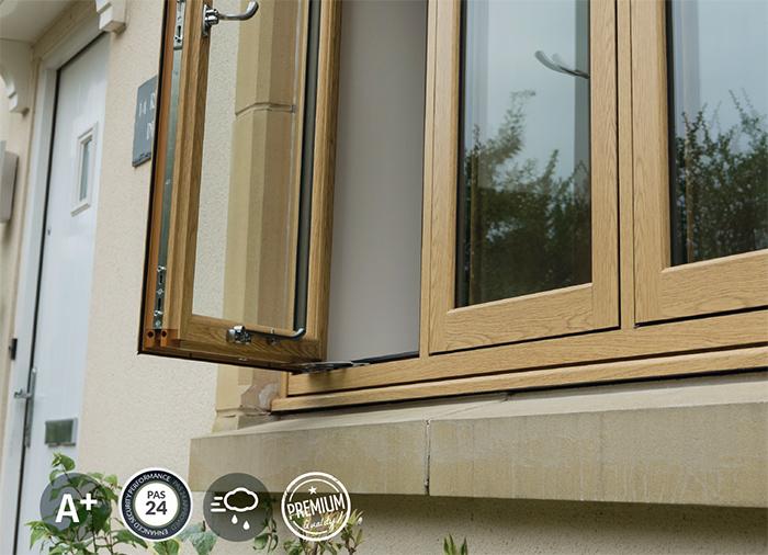 PVCu window range