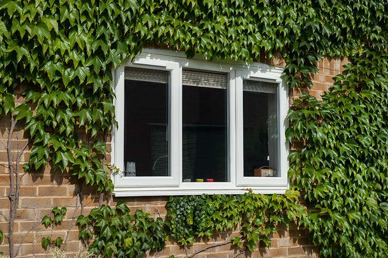 White PVCu Windows